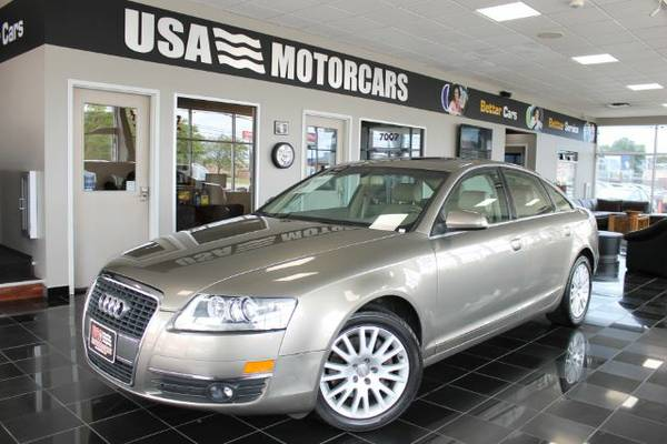 2006 AUDI A6 with TIPTRONIC BAD CREDIT OK!!
