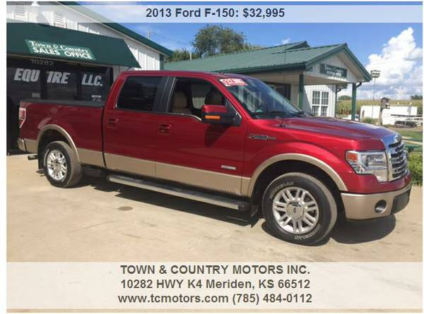 2013 FORD F ◆ 49000 MILES! 4WD SUPER CREW GREAT TRUCK!!