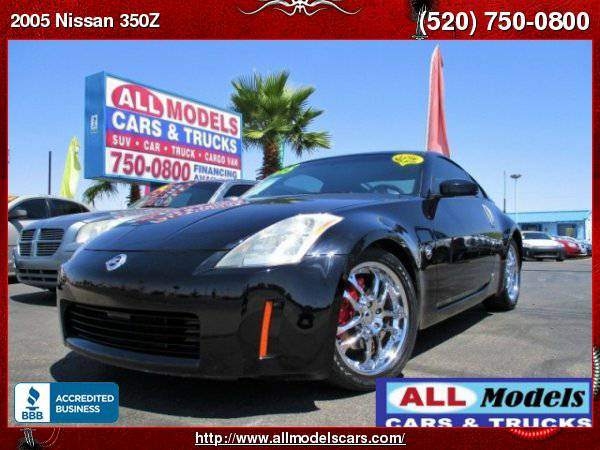 2005 Nissan 350Z Performance Coupe, 6 SPD Manual, LOW MILEAGE