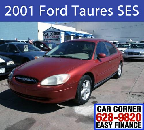 2001 Ford Taurus SES $499 Dwn*+Tax,Lic.Plate,Registr. & Doc. Fee