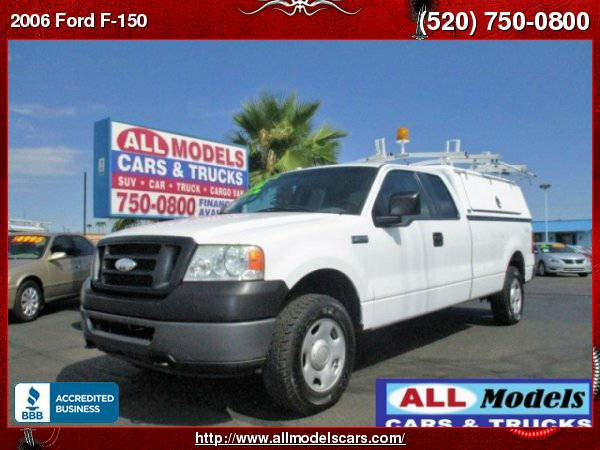 2006 Ford F150 XL Super Cab 4WD Service Utility Truck