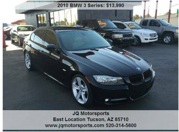 2010 BMW 335I NAVIGATION. PRISTINE. BLACK. BAD/NO CREDIT? WE CAN HELP-
