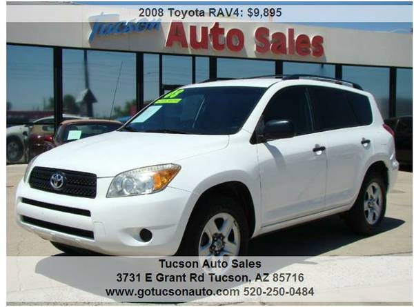 2008 TOYOTA RAV4 ............... THIRD ROW SEATING! LIKE NEW!