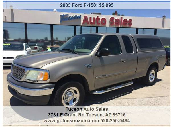 2003 FORD F150 Extended Cab 4DR ... 1 OWNER! SUPER CLEAN! WE FINANCE
