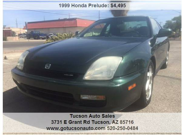 1999 HONDA PRELUDE ........... RUNS GREAT! WE FINANCE.
