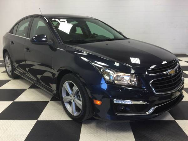 2015 CHEVROLET CRUZE LTHER LOADED ONE OWNER CLEAN CAR FAX