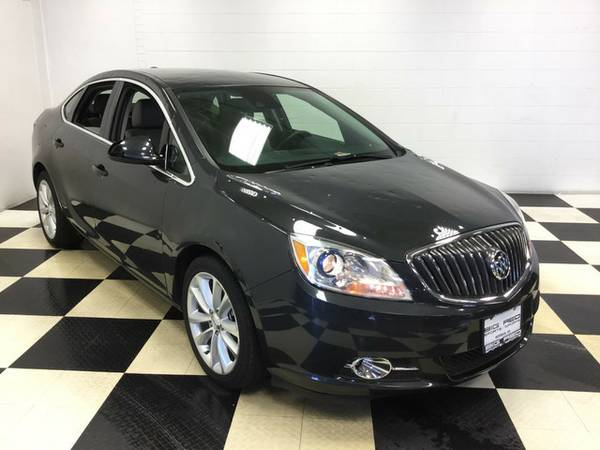 2015 BUICK VERANO LEATHER LOADED! PERFECT IN AND OUT! MUST SEE!!