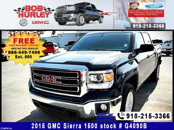 2015 GMC Sierra 1500 SLE Stock #G4090B