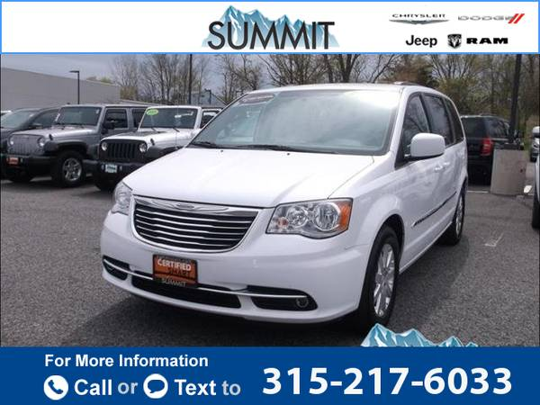 2015 *Chrysler* *Town* *&* *Country* *Touring* 27k miles
