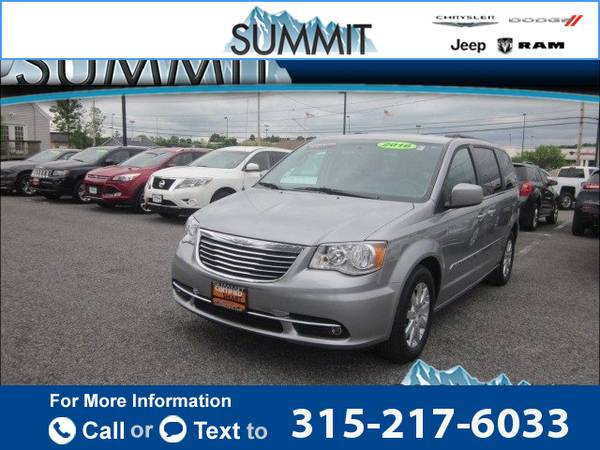 2016 *Chrysler* *Town* *&* *Country* *Touring* 13k miles