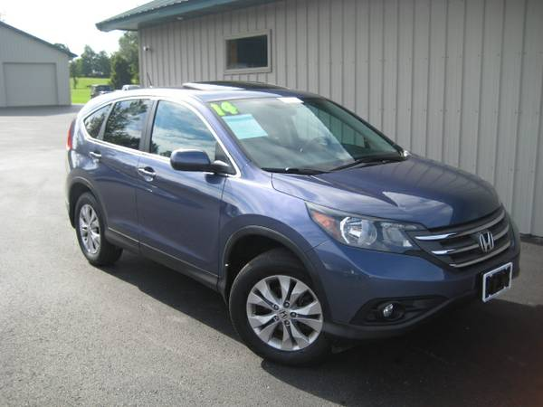 2014 HONDA CR-V AWD *EX - *ALLOYS - *SUN ROOF - *1 OWNER MUST SEE*