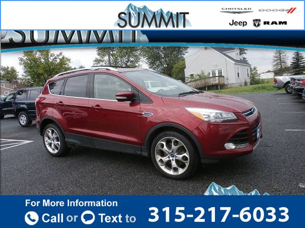 2013 *Ford* *Escape* *Titanium* 38k miles