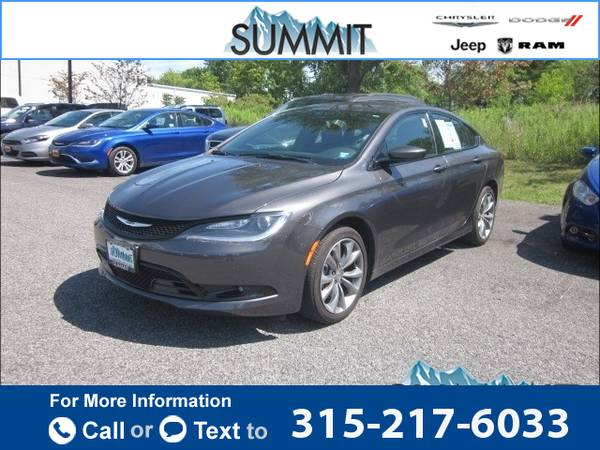 2015 *Chrysler* *200* *S* 28k miles