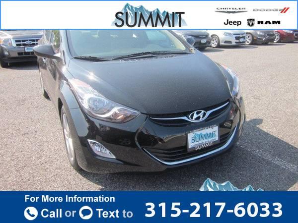 2012 *Hyundai* *Elantra* *GLS* 39k miles
