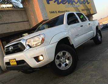 2015 Toyota TacomaV6 4dr Double Cab 4WD 5.0 ft. SB (4.0L 6cyl 5A)