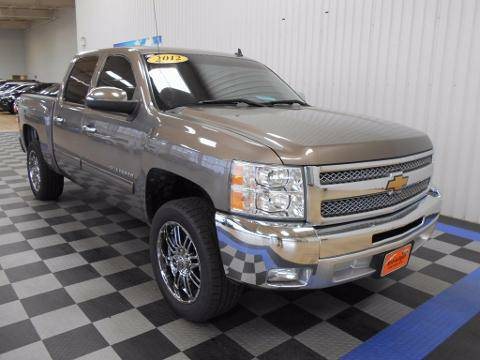 2012 Chevrolet Silverado 1500 4 Door Crew Cab Short Bed Truck