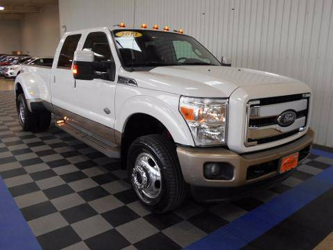 2012 Ford F-350 4 Door Crew Cab Long Bed Truck