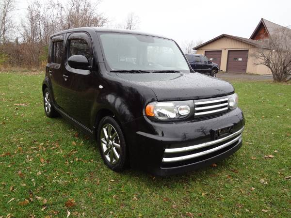 2009 Nissan Cube Rare KROM Edition Black Every Possible option must se