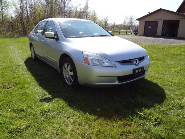 2005 Honda Accord EX Silver Leather Loaded