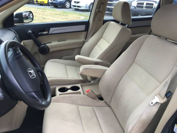 2010 Honda CRV LX 4x4 Loaded Black on Cream Interior