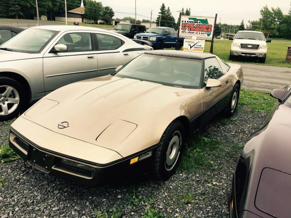 1984 Chevrolet Corvette Glass Roof Runs Perfect Priced to Sell 86K
