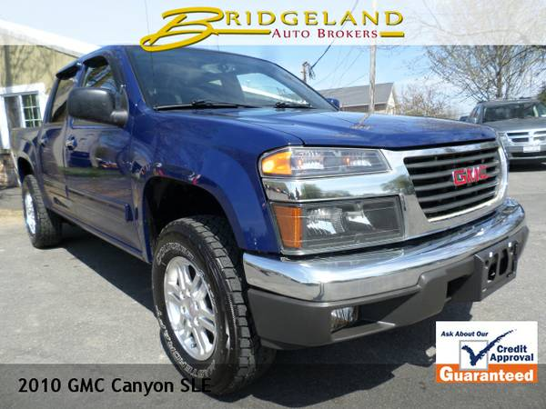2010 GMC Canyon SLE CREW CAB 4X4 .. THIS IS CHEAP!