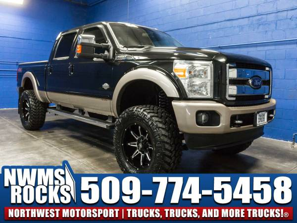 Lifted 2013 *Ford F350* King Ranch 4x4 -
