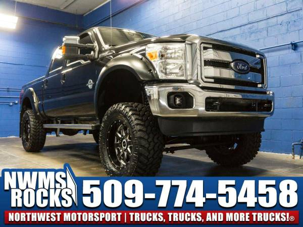 Lifted 2014 *Ford F350* Lariat 4x4 -