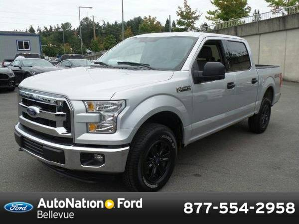 2015 Ford F-150 XLT SKU:FKD83455 SuperCrew Cab