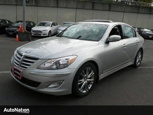 2013 Hyundai Genesis 3.8L SKU:DU253187 Sedan
