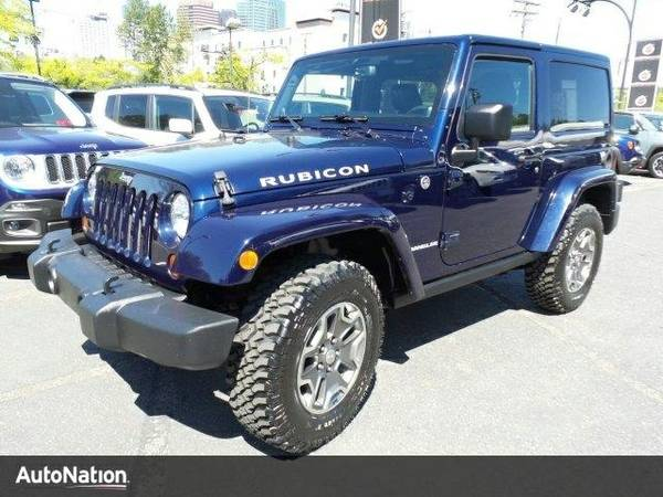 2013 Jeep Wrangler Rubicon SKU:DL574882 SUV