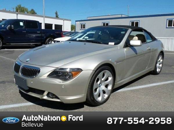 2006 BMW 650 650Ci SKU:6CN76787 Convertible