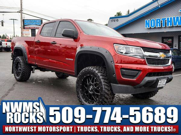 Lifted 2015 *Chevrolet Colorado* 4x4 - AUX/USB Ports! 2015 Chevrolet...