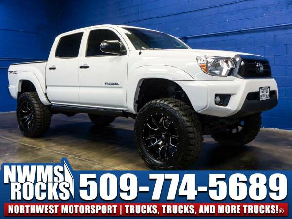 Lifted 2015 *Toyota Tacoma* TRD Off Road 4x4 - Clean Carfax! 2015...