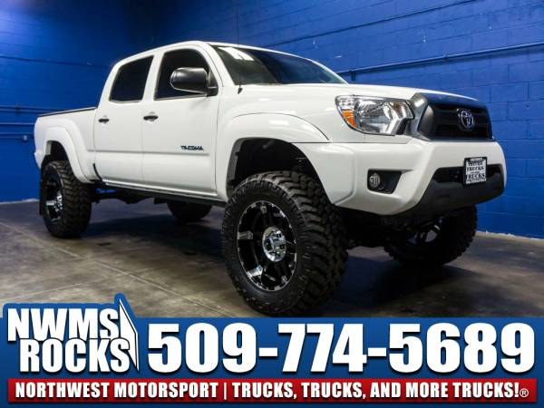 Lifted 2015 *Toyota Tacoma* SR5 4x4 - Steering Audio Controls! 2015...