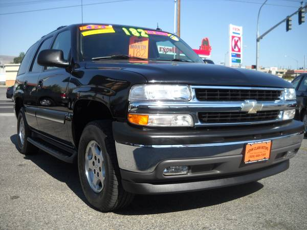 2005 CHEVY TAHOE 4X4...3RD SEAT...8 PASSENGER...LEATHER...DVD
