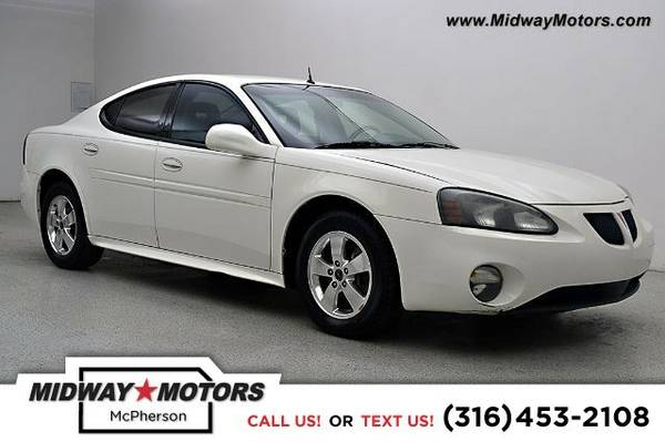2005 Pontiac Grand Prix GT Sedan Grand Prix Pontiac