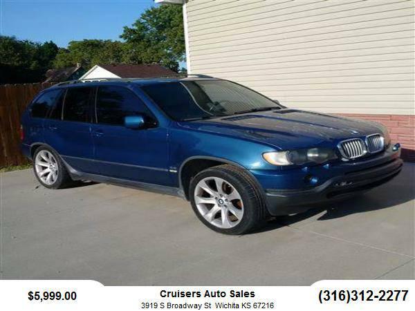 2001 BMW X5 SUV 4.4i Sport Utility 4D