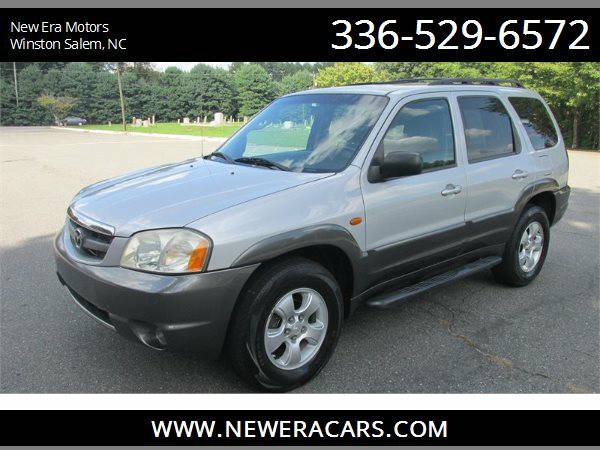 2004 MAZDA TRIBUTE ES Cheap! , Silver