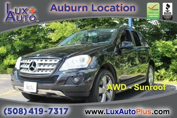 2011 Mercedes-Benz ML350 - AWD -Sunroof SUV ML350 Mercedes-Benz