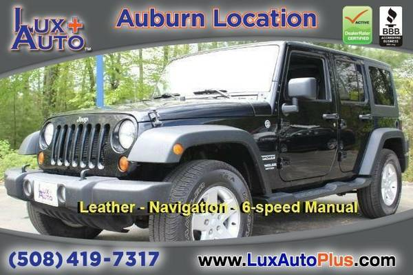 2011 Jeep Wrangler Unlimited SUV Wrangler Unlimited Jeep
