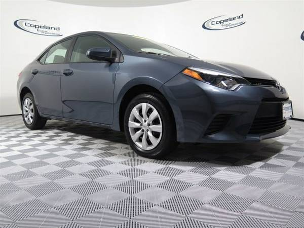Certified: 2014 Toyota Corolla 4dr Car LE 16,795 miles only