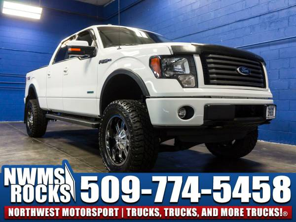 Lifted 2012 *Ford F150* FX4 4x4 - Keyless Entry Pad! 2012 Ford F-150...