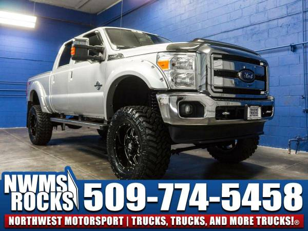 Lifted 2016 *Ford F350* Lariat 4x4 - Tonneau Cover! 2016 Ford F-350...