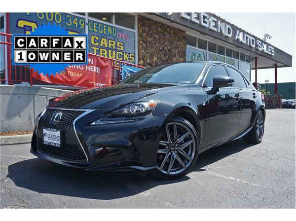2014 Lexus IS Car IS 250 Sedan 4D