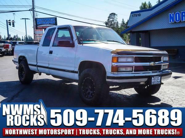 1997 *Chevrolet Silverado* 1500 4x4 -