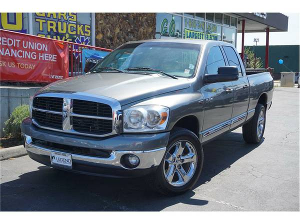 2008 Dodge Ram 1500 Quad Cab Truck Laramie Pickup 4D 6 1 4 ft