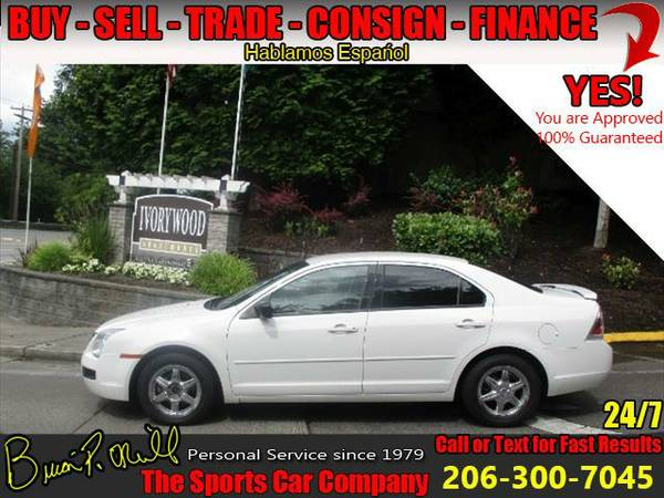 2009 FORD FUSION~GREAT ECONOMY CAR~MAKE LOW PAYMENTS~
