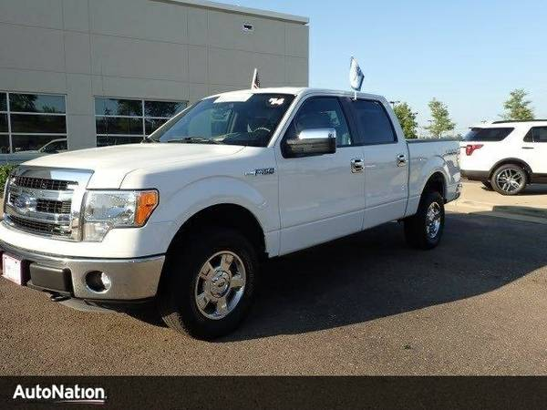 2014 Ford F-150 XLT SKU:EFC00857 SuperCrew Cab