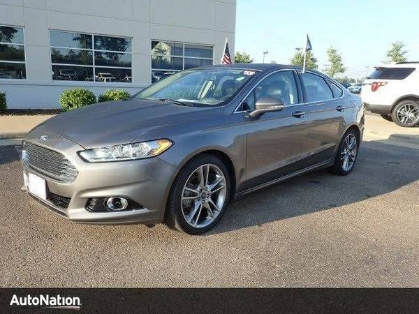 2013 Ford Fusion Titanium SKU:DR377052 Sedan